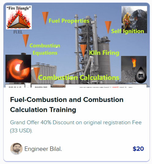 Fuel Combustion and Combustion Calculation